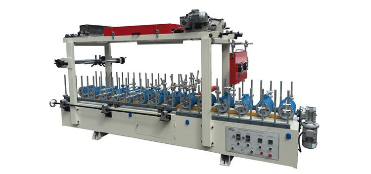 FB-650-hessan 650mm cold glue wrapping machine
