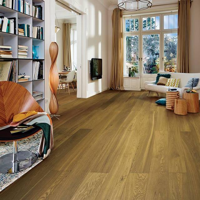 Wood Grain Floor Tile Sheet Lamination